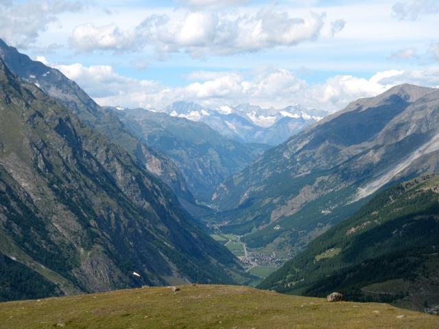 Valle di Zermatt da Riffelberg
