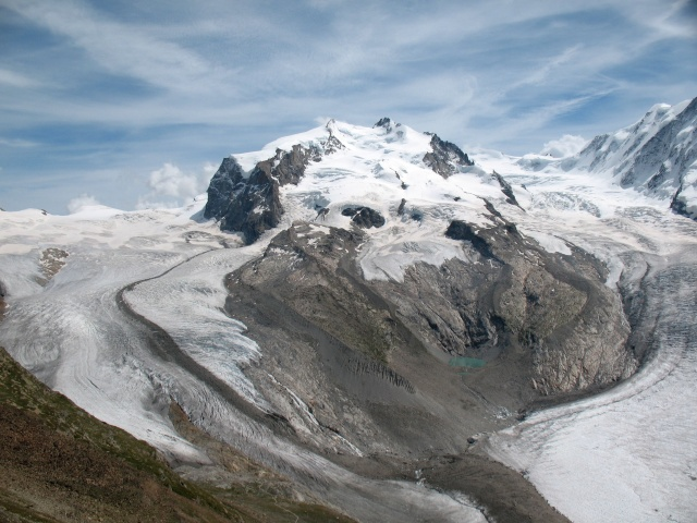Monte Rosa - Nordend, Dufour, Parrot, Lyskamm e Gornergletscher