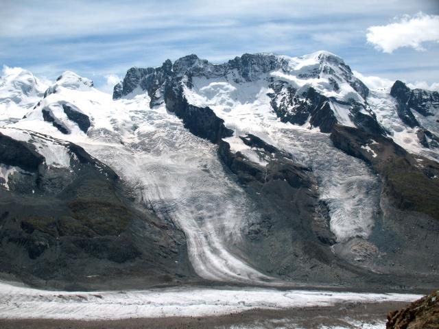 Monte Rosa - Castor, Pollux, Schawarzegletscher, Breithorn
