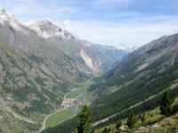 Valle di Zermatt dall'Europaweg