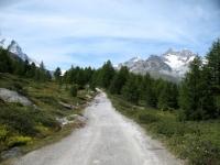 Ze Seewjinen-Gruensee in direzione Riffelalp