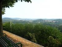 Panorama sul comasco dal Colle di San Maffeo