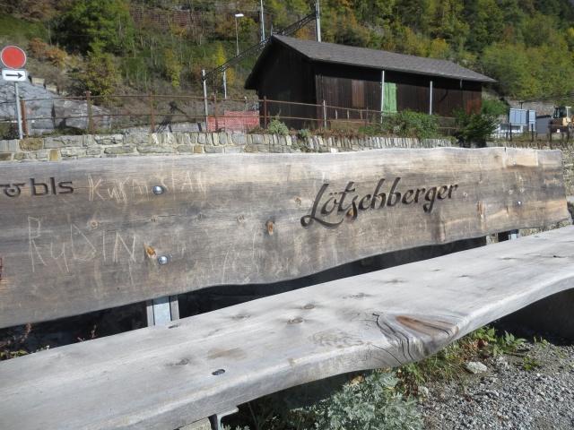 Loetschberger Suedrampe - stazione di Hohtenn