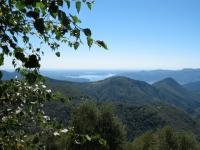 In direzione Oro del Fai e Pian d'Arla - panorama su pianura padana e Lago maggiore