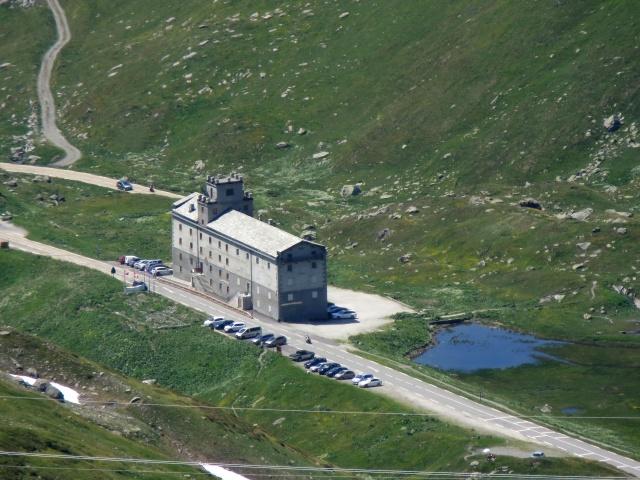 L'Ospizio del Piccolo San Bernardo, vista panoramica dal Colle Belvedere