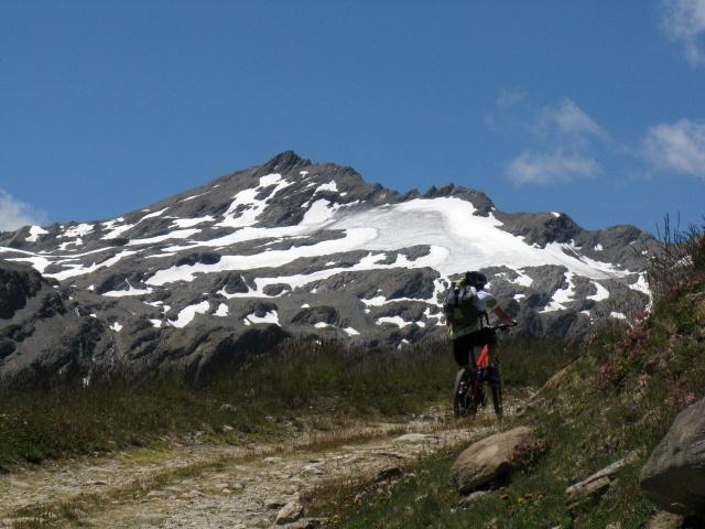 Pointe Lechaud dall'Alpe Chavanne inferiore