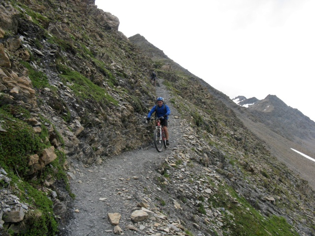 Discesa in Val Veny dal Col Chavanne