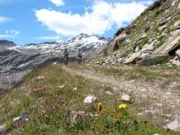 Pointe Lechaud dall'Alpe Chavanne Superiore