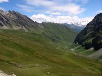 Panorama del vallone dall'Alpe Chavanne superiore