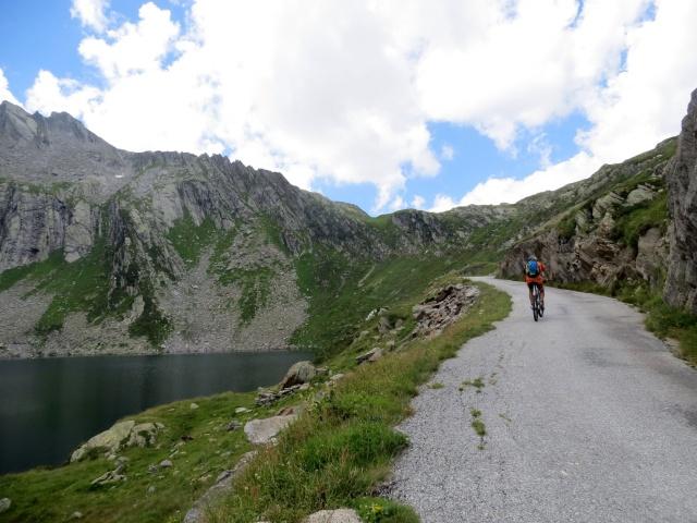 Salita al Lago Scuro