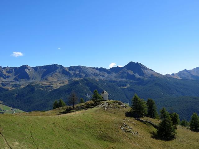 Salendo all'Alpe di Gilliarey, panorama