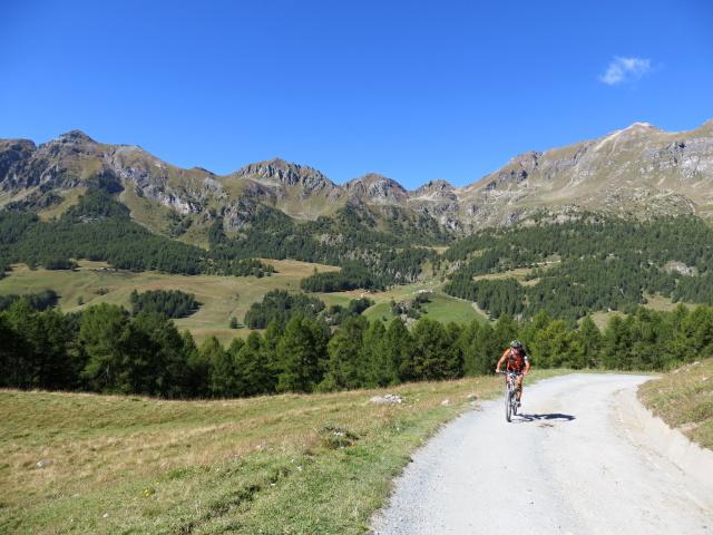 Salendo all'Alpe di Gilliarey