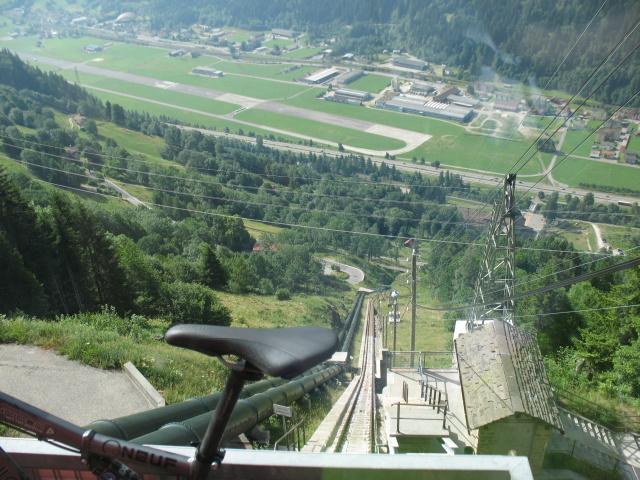 Funicolare Piotta-Piora - panorama