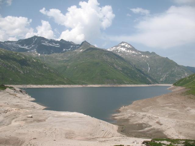 Passo del Lucomagno - Lago di santa Maria
