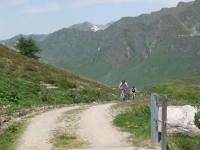 Salita all'Alpe Carorescio