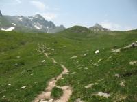 Sentiero in direzione di Lareccio