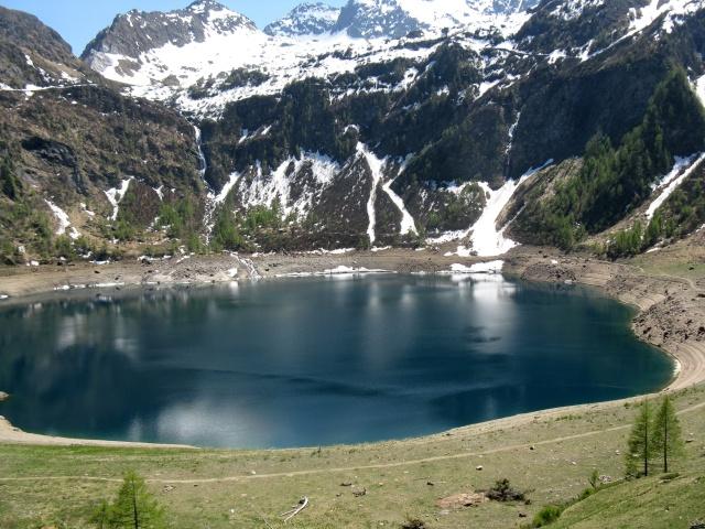 Il lago visto dall'Alpe Tremorgio