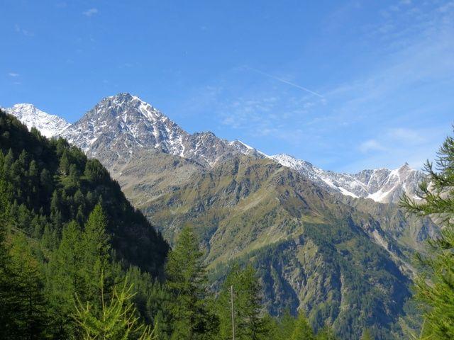 Furggupass, Fletschhorn e parte del Lagginhorn