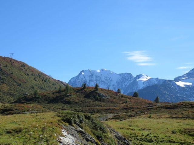 Simplonpass, vista sul Fletschhorn