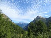 Monte Cistella (centro), Passo del Monscera (dx)