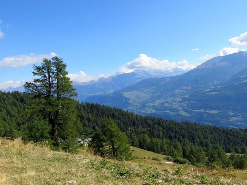 Panorama sulle vette del Sempione