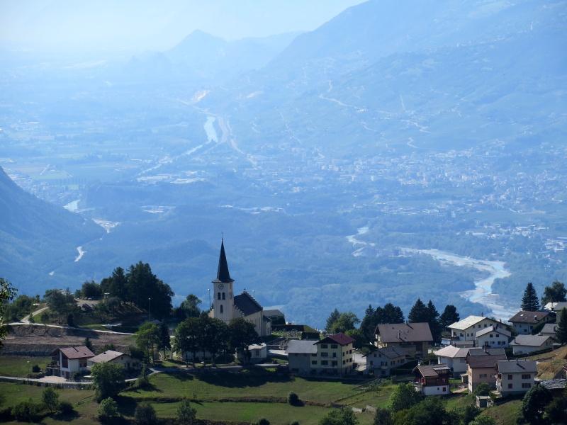 Valle del Rodano - panorama