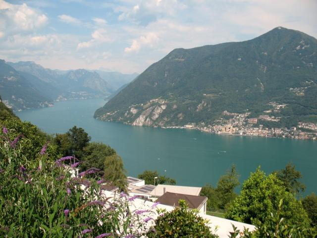 Lago di Lugano e Monte Sighignola