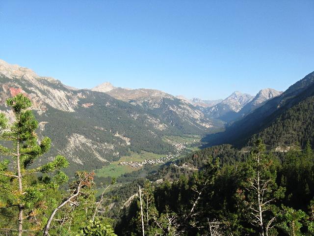 Panorama sulla valle della Clarée