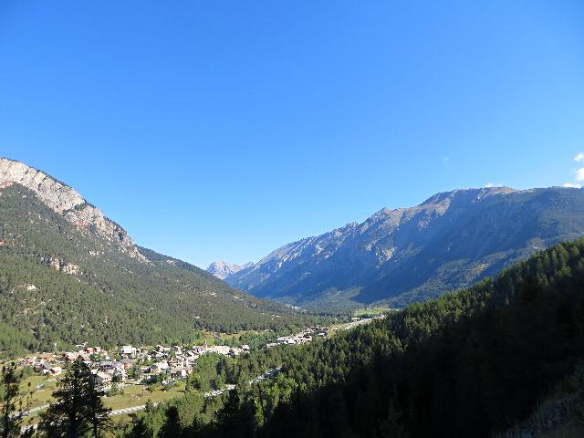 La vachette e Les Alberts all'inizio della Valle della Clarée