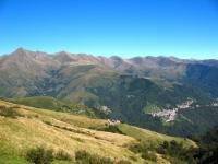 Val Cavargna - sulla sinistra il Pizzo di Gino