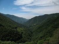 In direzione di Erbonne, panorama