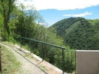 In direzione di Erbonne, inizio sentiero da Scudellate