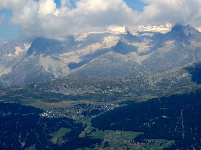 Bettmeralp (Aletscharena) vista dal Colle del Breithorn