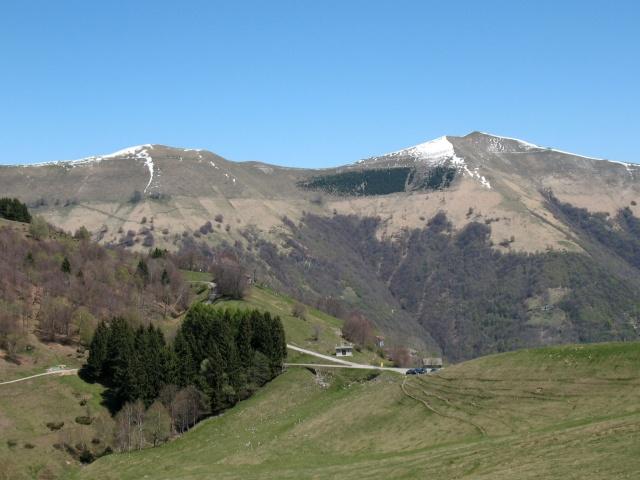 Monte Galbiga e Monte di Tremezzo