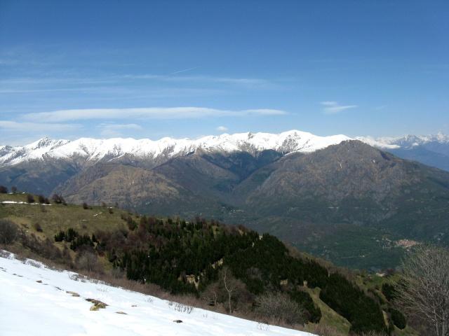 Panorama dal rifugio Venini