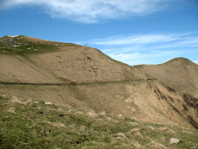 Versante sud del Monte di Tremezzo e del Monte Crocione