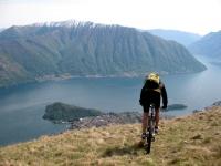 Lago di Como - particolare su penisola di Lavedo