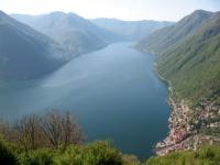 Lago di Como dalla stazione di Pigra