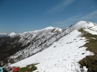 Monte Crocione e Monte di Tremezzo dal rifugio Venini
