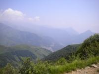 Salita al Monte Gazzirola, panorama della Val Cavargna