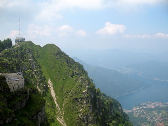 Vetta del Monte Generoso - panorama