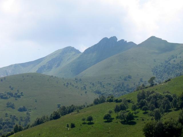Monte Generoso dall'Alpe di Orimento