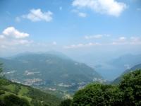 Lago di Como da Ermogna