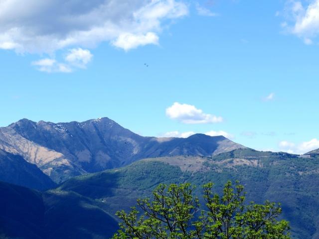 Panorama dalla chiesa di San Michele: Monte Zeda