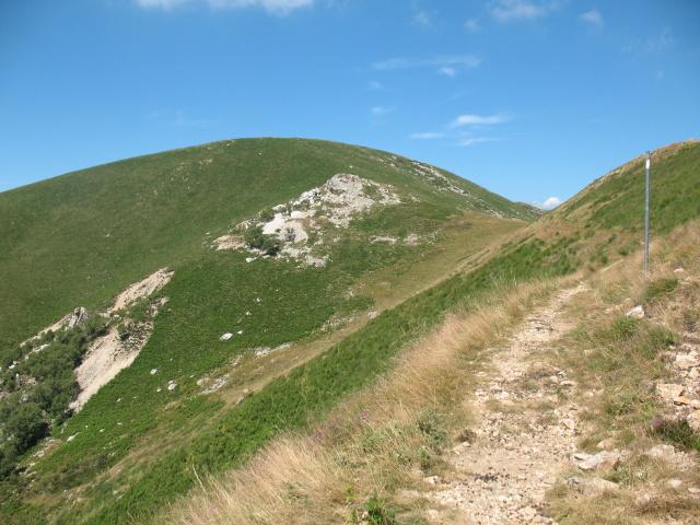 Ripresa del tratto ciclabile per il Monte Corbaro