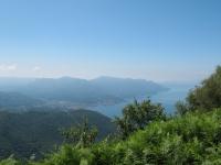 Luino e Lago Maggiore dalla strada per La Forcola