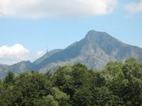 Monte Tamaro e la sua nota antenna dal Monte Paglione