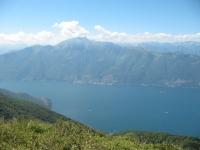 Monte Limidario (o Gridone per CH) dalla cima del Paglione