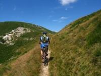 Traverso ciclabile in direzione del Monte Corbaro