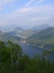Lago di Lugano da Sasso Paradiso